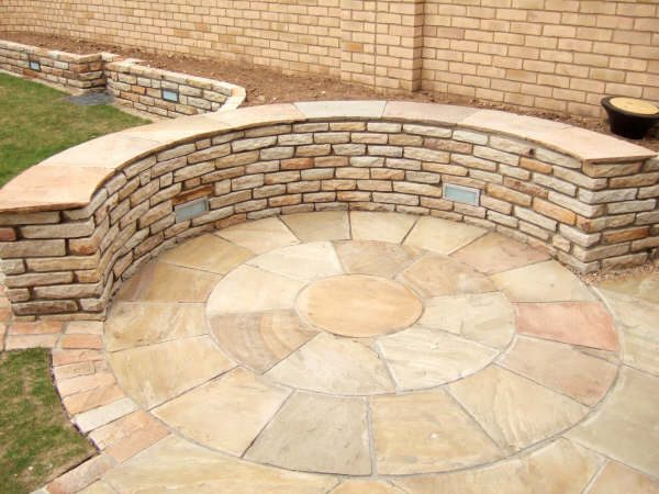MINT SANDSTONE CIRCLE SET