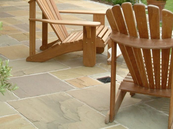 RAJ GREEN SANDSTONE PATIO PAVING SLABS