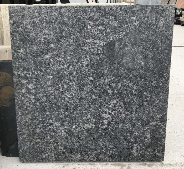 BLACK PEARL FLAMED GRANITE PAVING SLABS