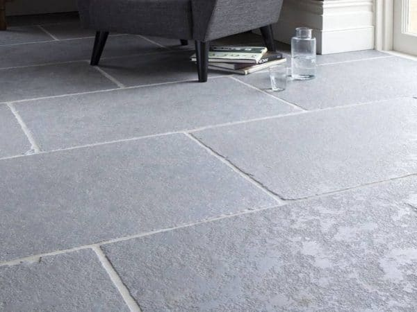 ASH GREY 1/2 HONED LIMESTONE PAVING SLABS